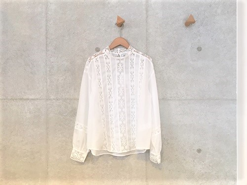 nesessaire Cluny lace blouse