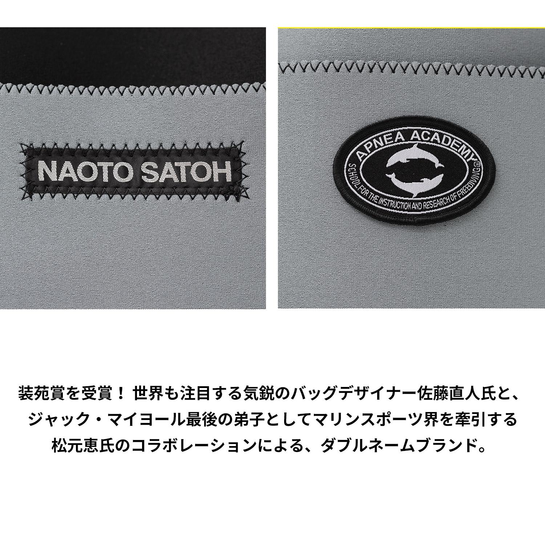 APNEA ACADEMY × NAOTO SATOH このすばらしきコラボレーション