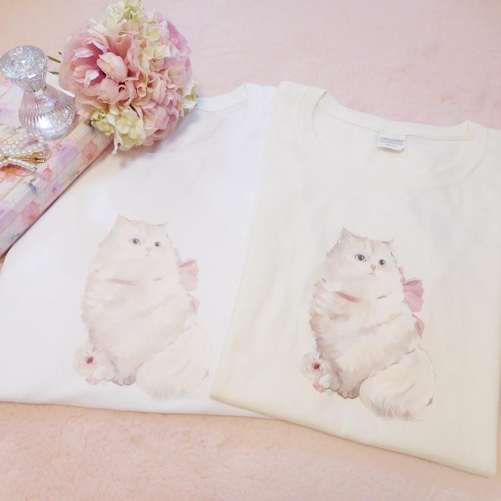 オリジナル猫ちゃんTシャツ♡