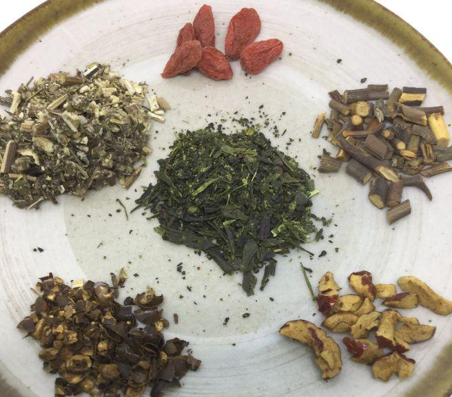 ベースのお茶にジャスミン茶が仲間入りしました♡新作のお茶『罰当たりなお茶』も仲間入り!