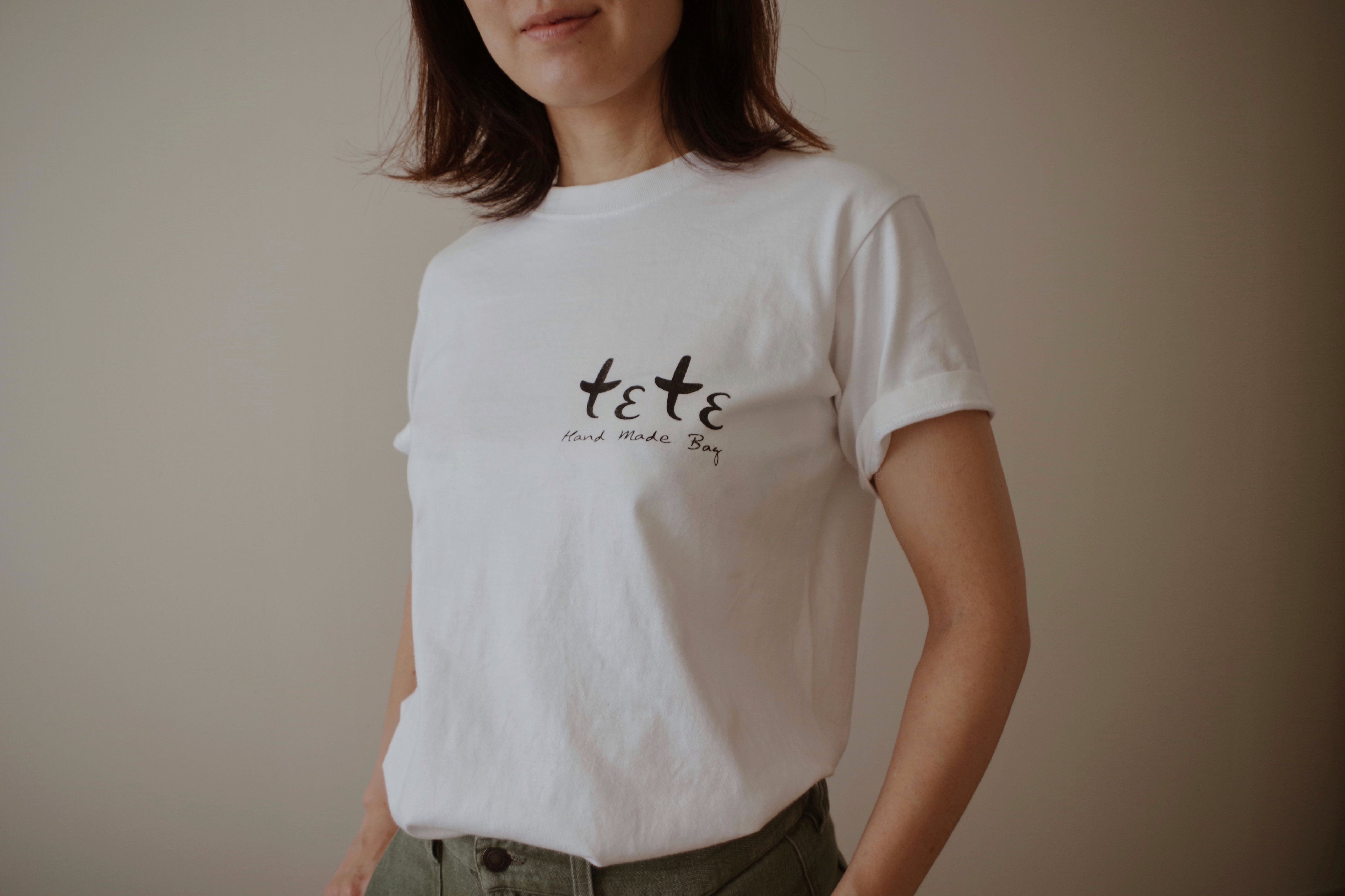 シルクスクリーンで「 teteT」作り