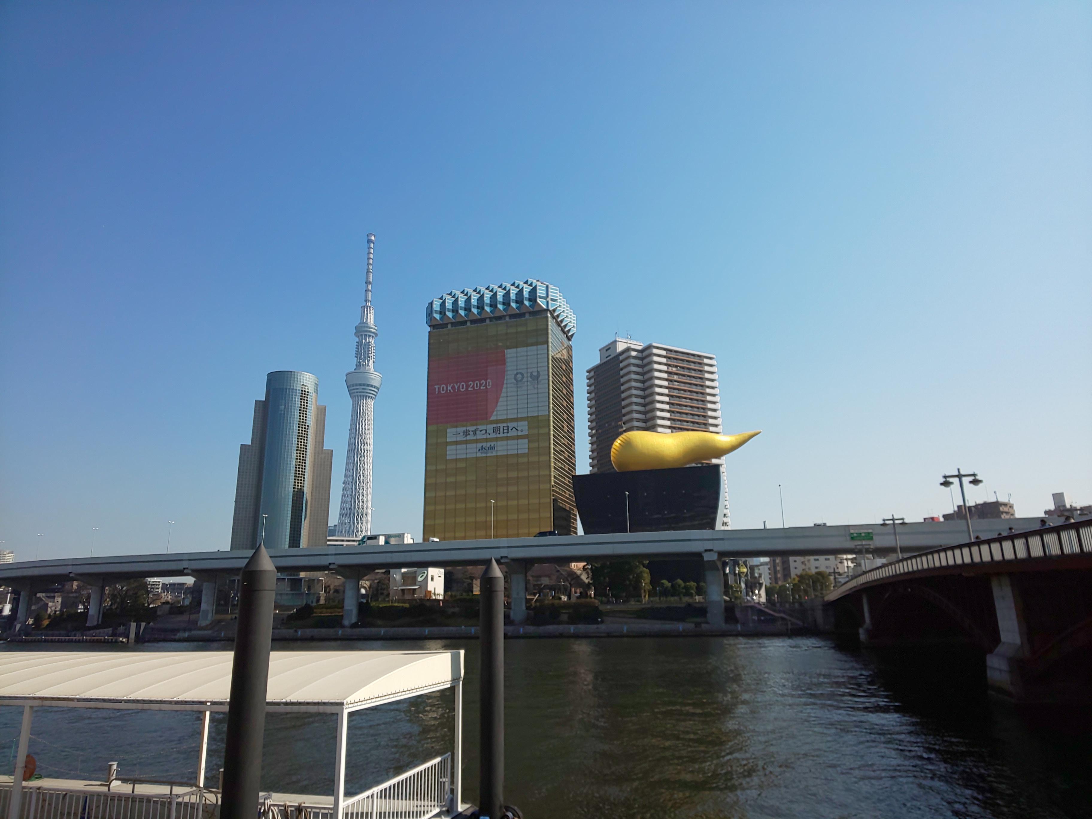 のんびり隅田川~天茶とお散歩