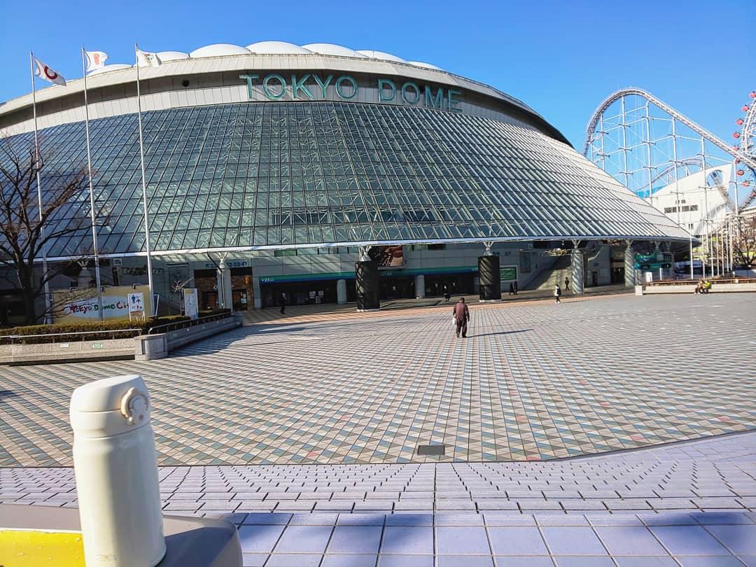 東京ドームシティ~天茶とお散歩