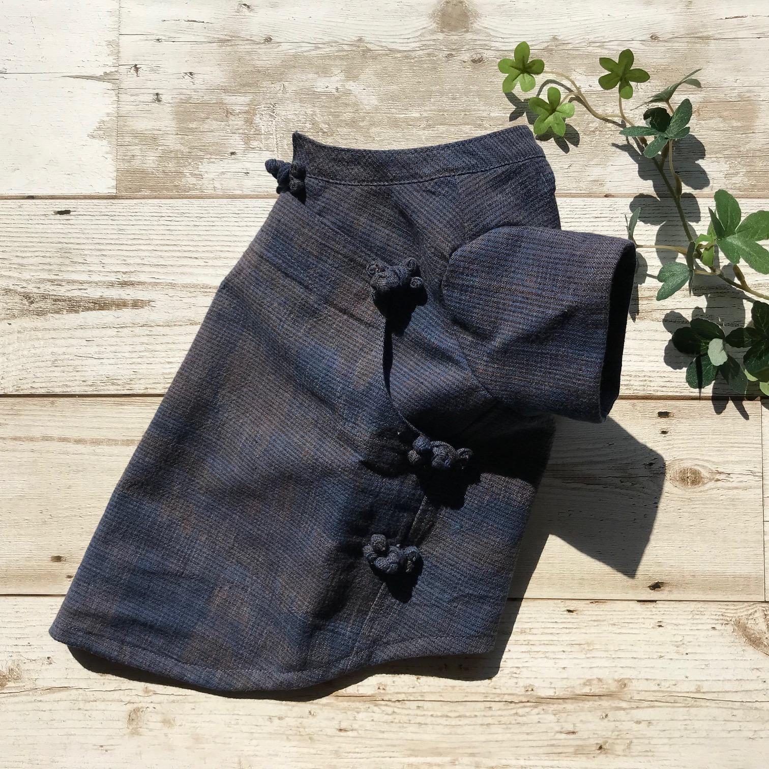 タイの綿織物ジョムトンを使った、ありそうで無かったエスニックペットウェア