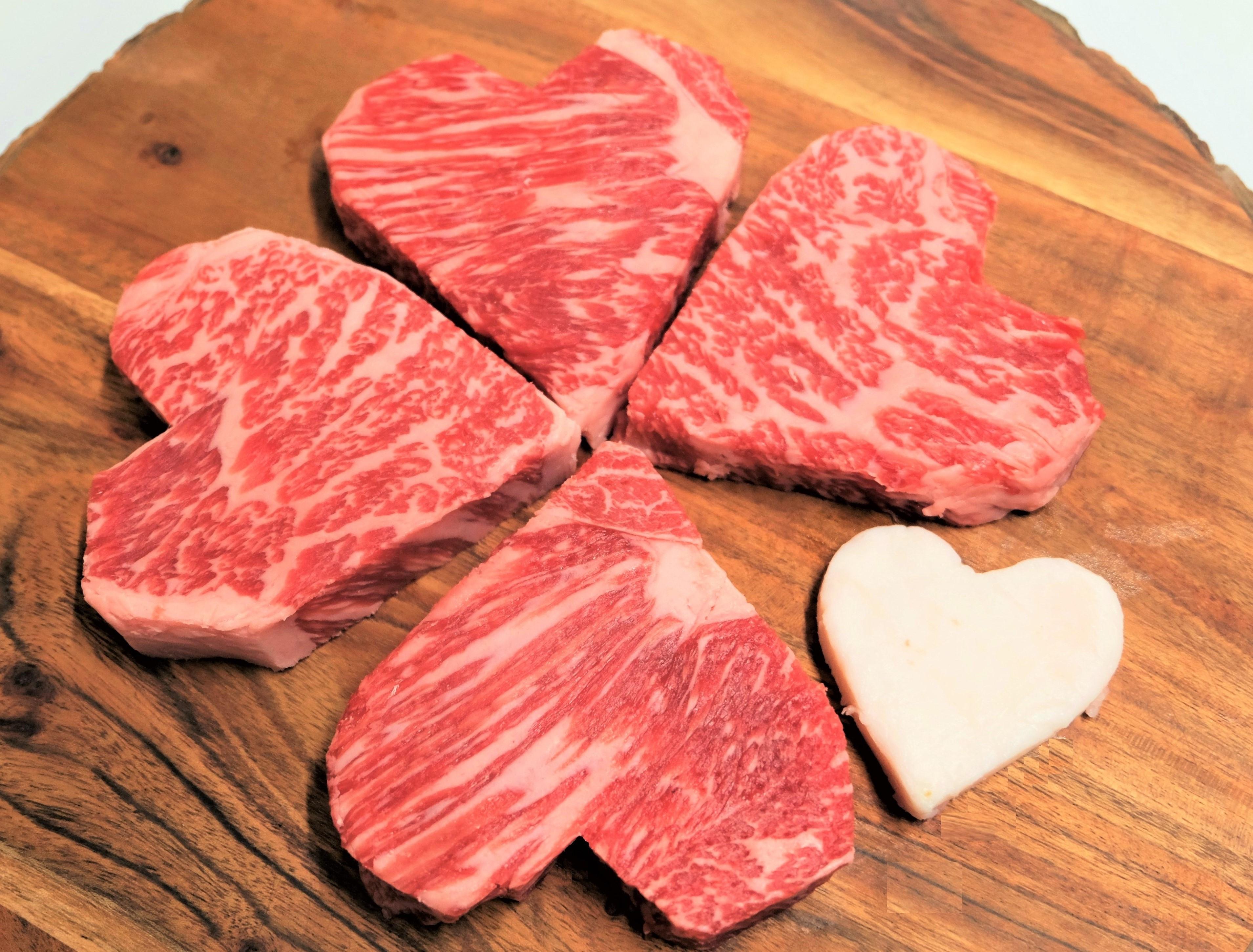 バレンタインにお勧め♡ハート型サーロインステーキのギフトセット