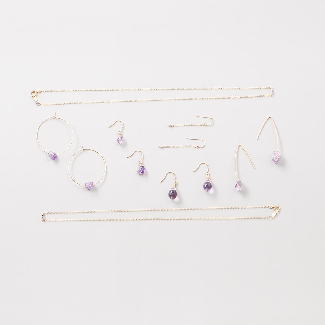 14kgf jewlry series【 amethyst 】