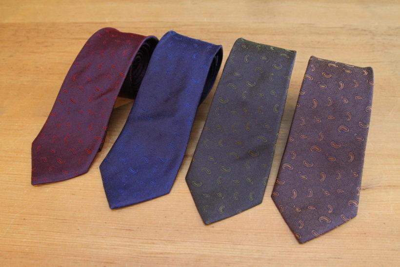 ネクタイ大量入荷しました