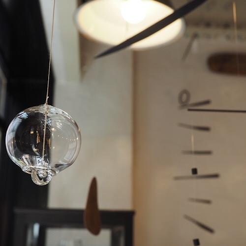 森谷和輝さんのガラス小物たち