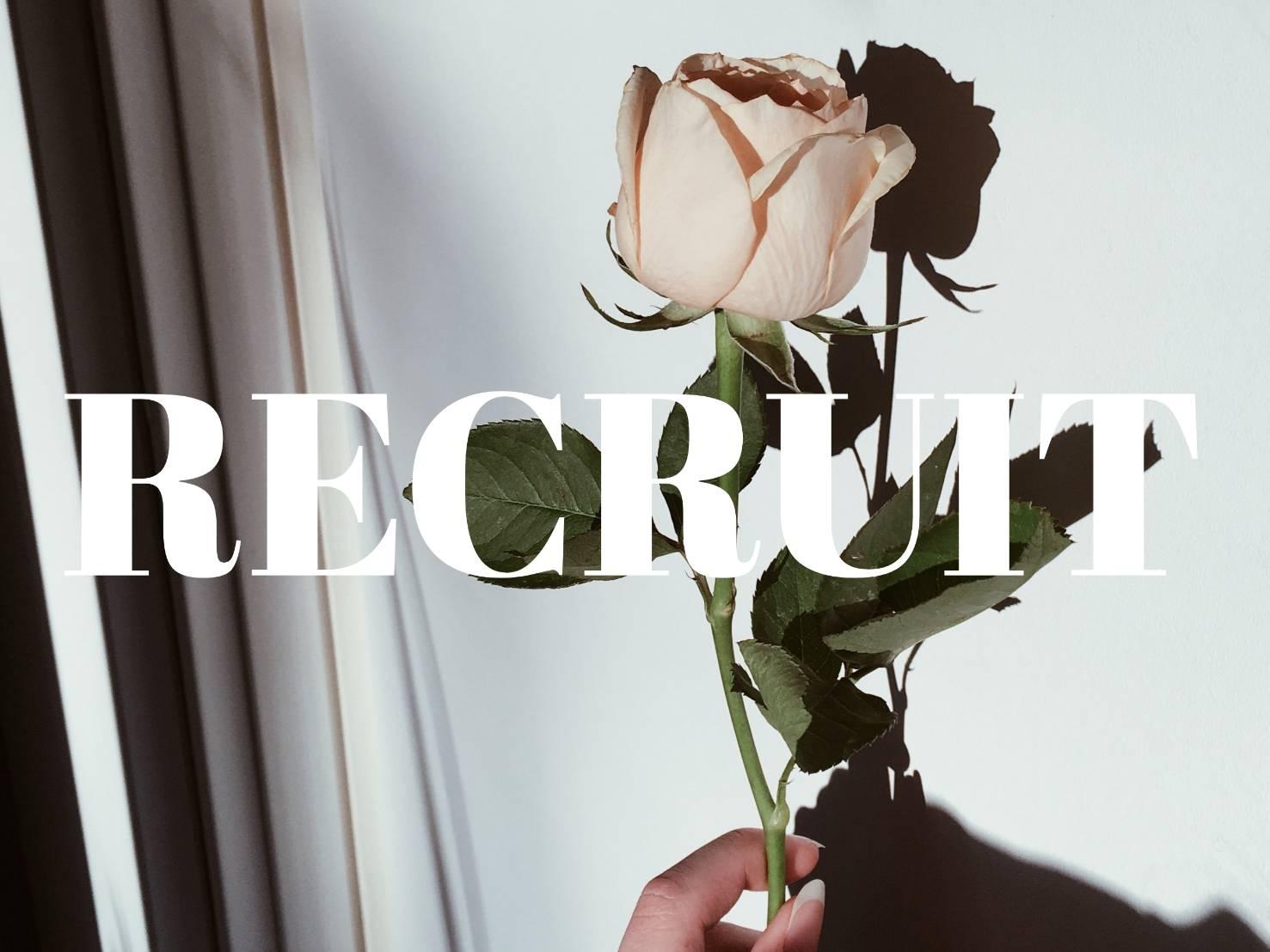 【RECRUIT】インスタライバー募集