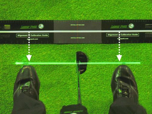 緑のレーザーであなたのラインを習得!