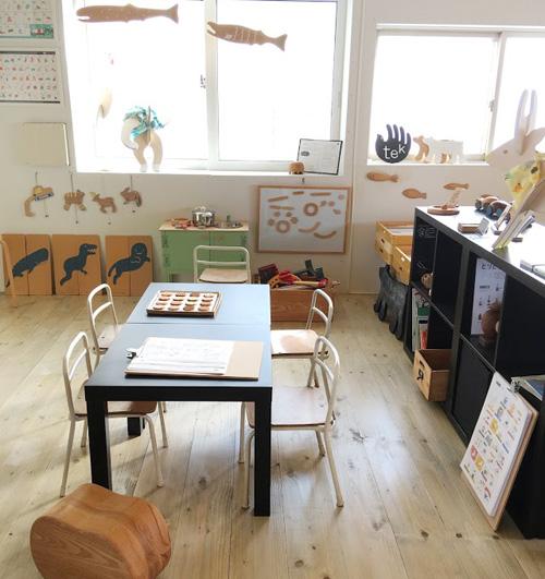 [直営店+遊び場]丹野製作所 展示室/tekのへやについて