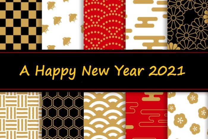 A HAPPY NEW YEAR 2021