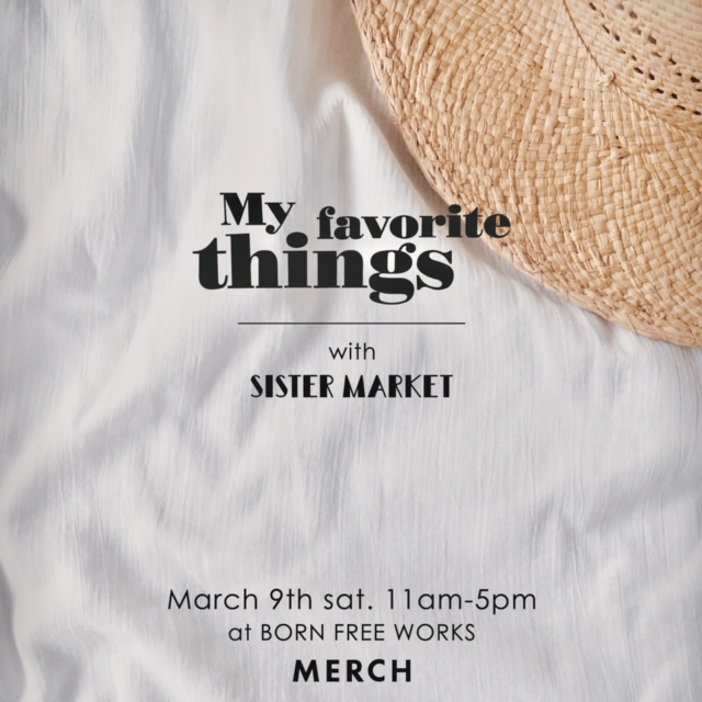 My Favorite Things -March-