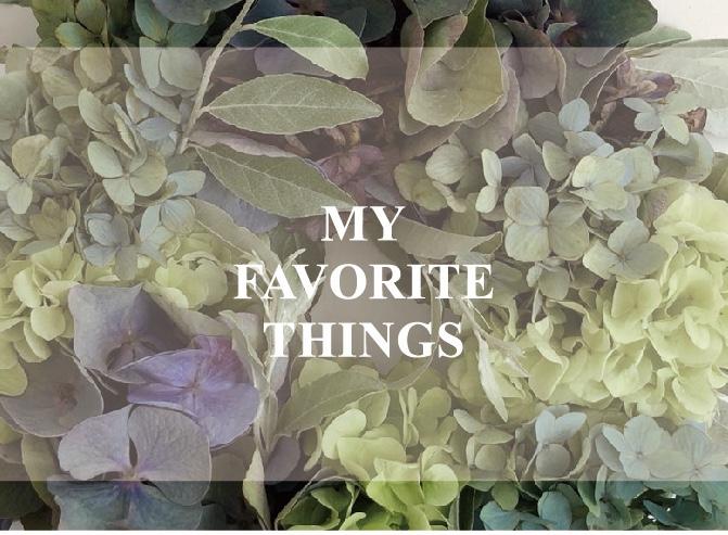 MY FAVORITE THINGS -JULY-