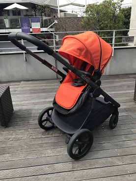 ロンドンブランド「icandy」 1人乗りベビーカー Orange!