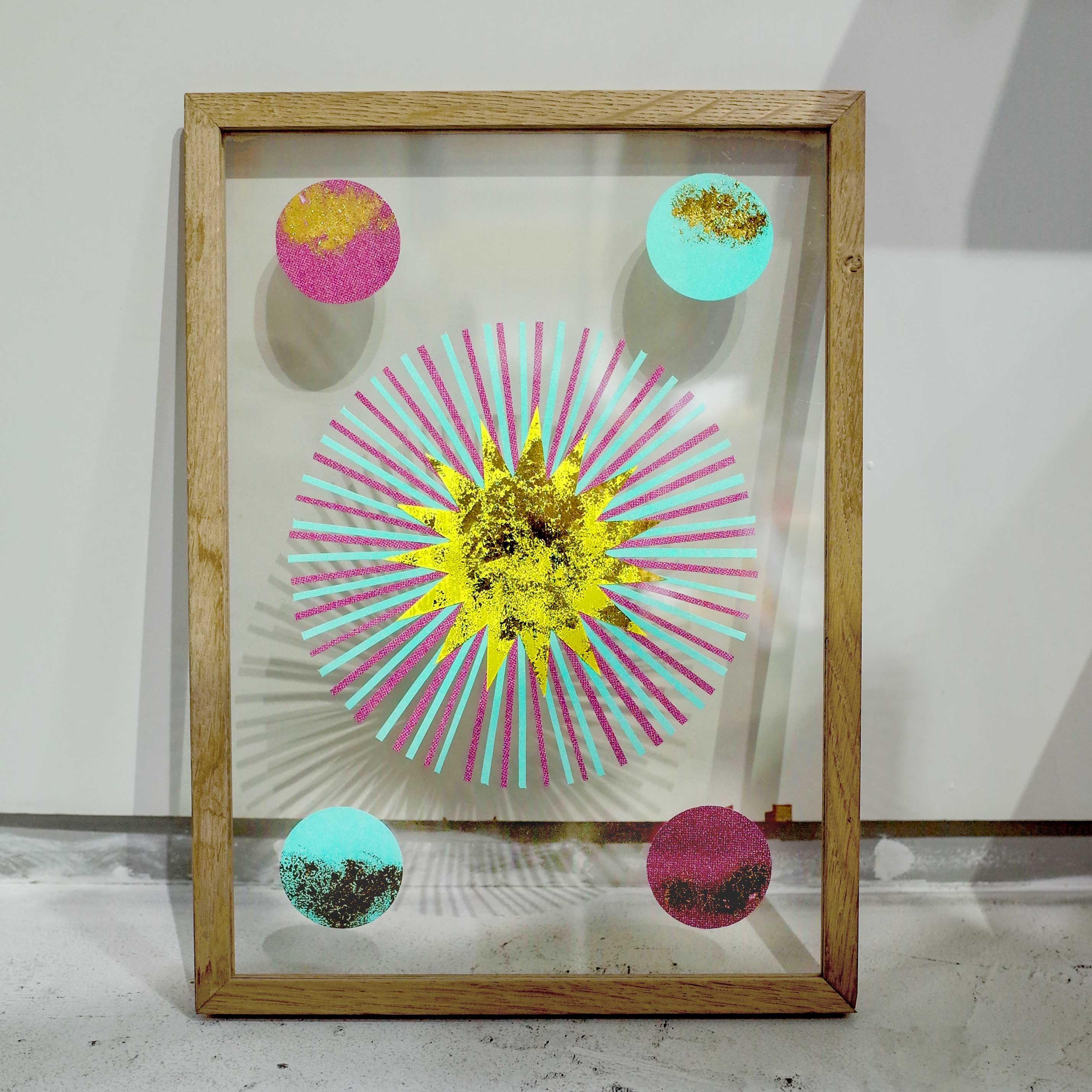 開催中【 MAMESUKI  Exhibition 】光をテーマにしたリソグラフのペーパーアート