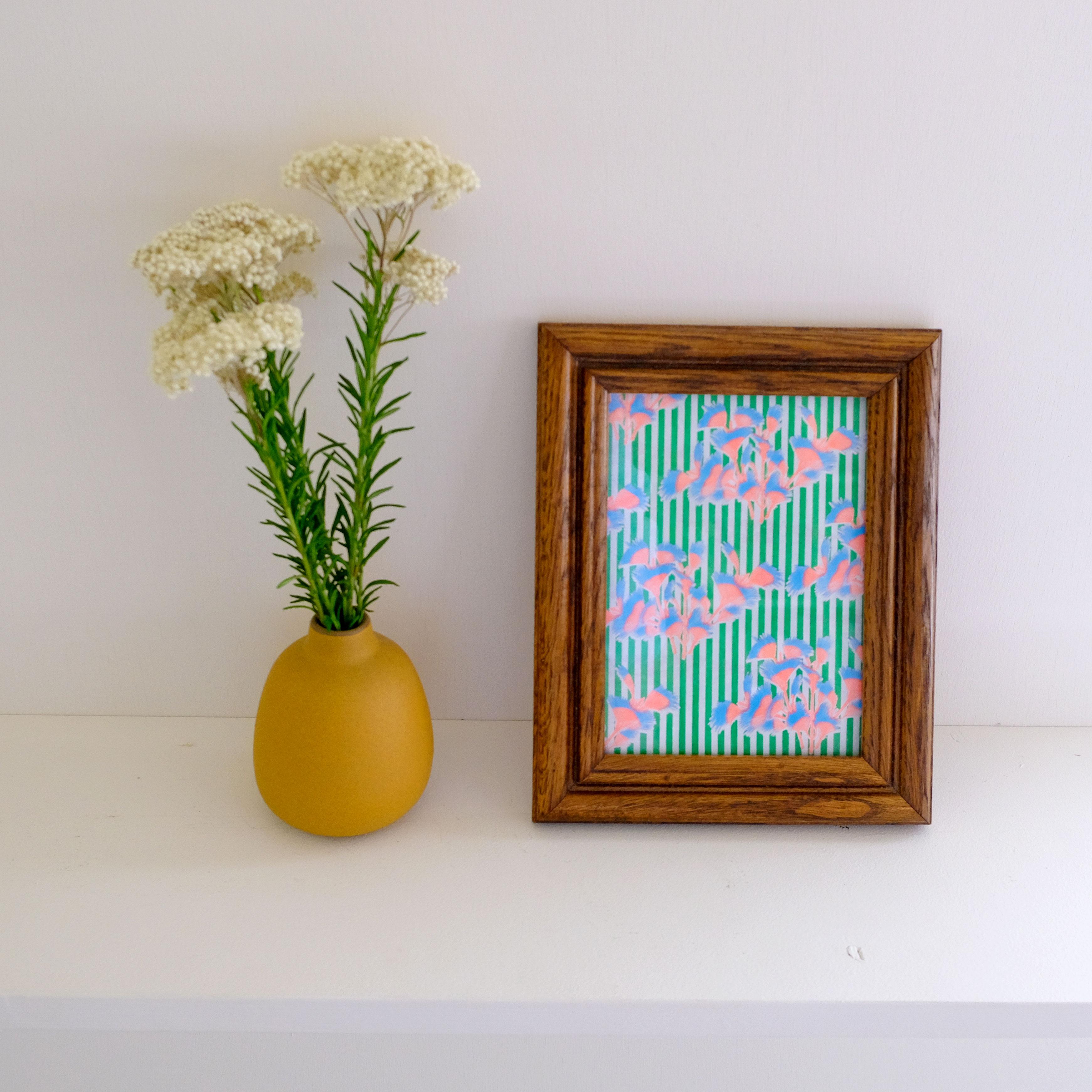 【MAMESUKI パターンペーパー活用法】カラフルなアートペーパーでお部屋に彩りを!