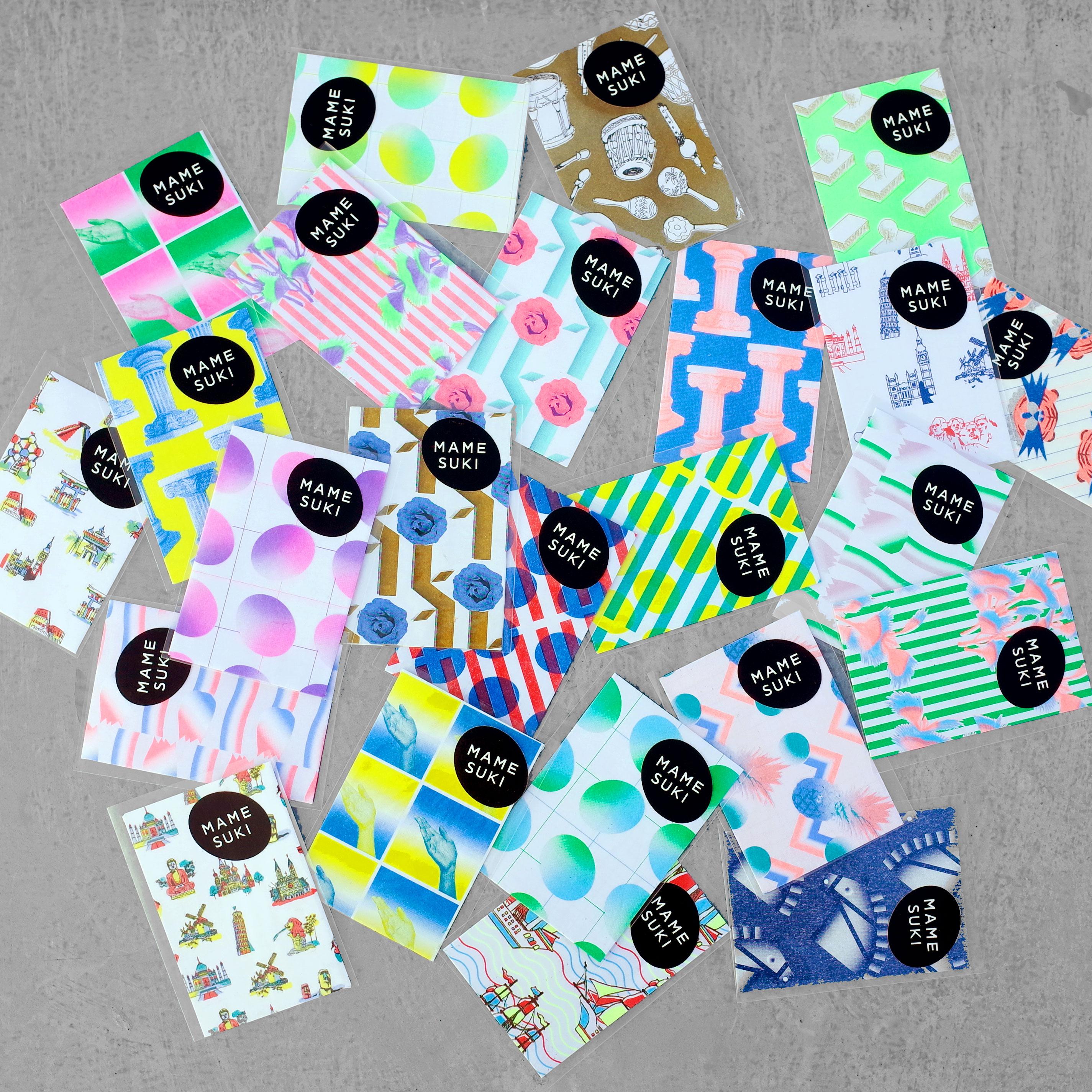 選ぶのが楽しい!30種類以上のデザインの【MAMESUKI】ポチ袋コレクション