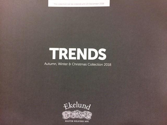 Ekelund(エーケルンド)秋&冬クリスマスカタログ到着