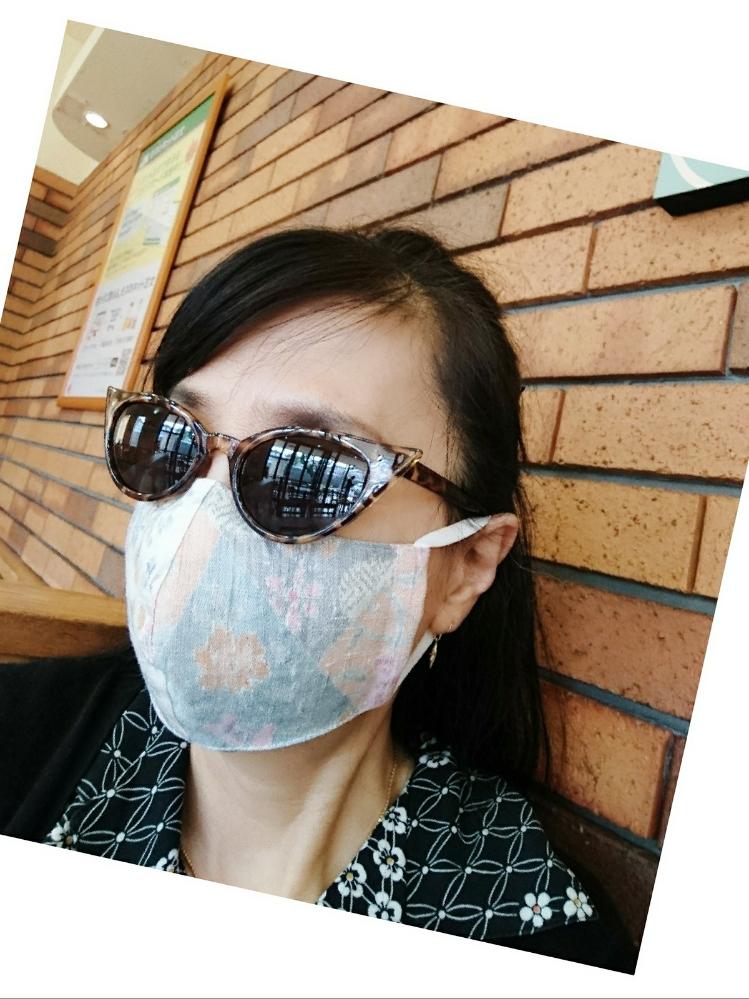 今日のマスク