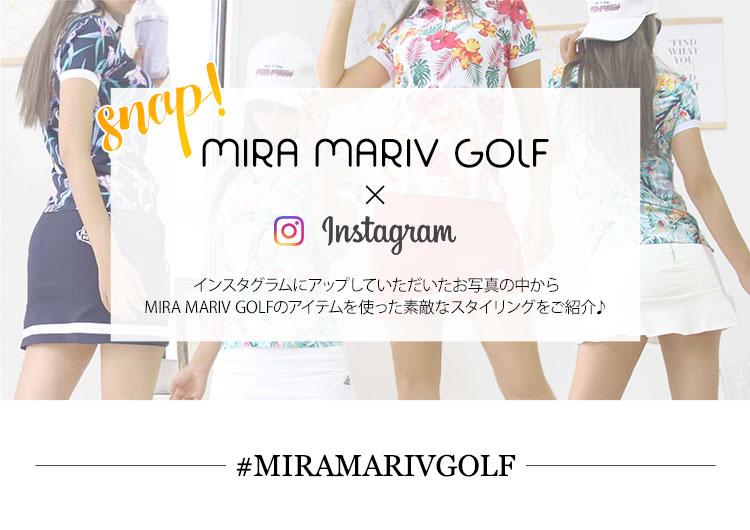 MIRA MARIV GOLFコーデ♡