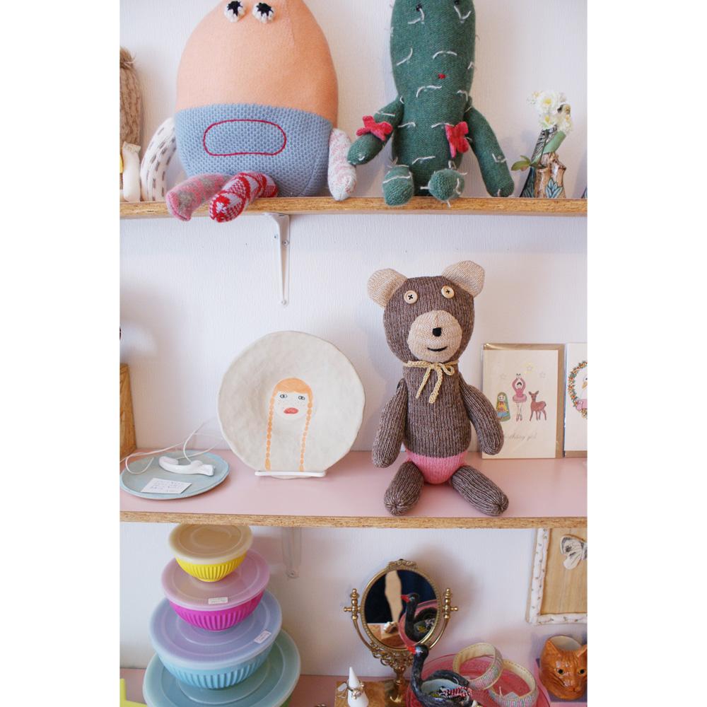はじめまして、cikolataのお人形のお店がオープンしました