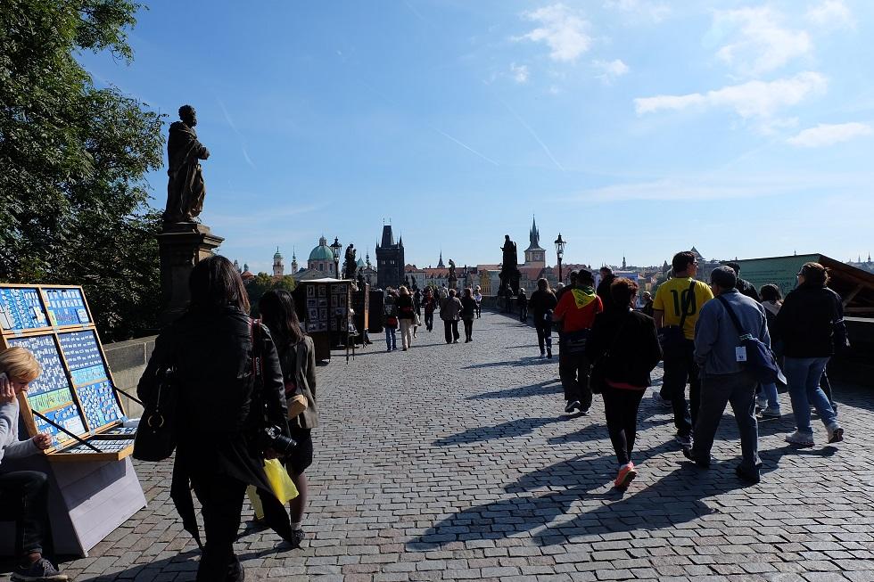 プラハの早朝散歩の話