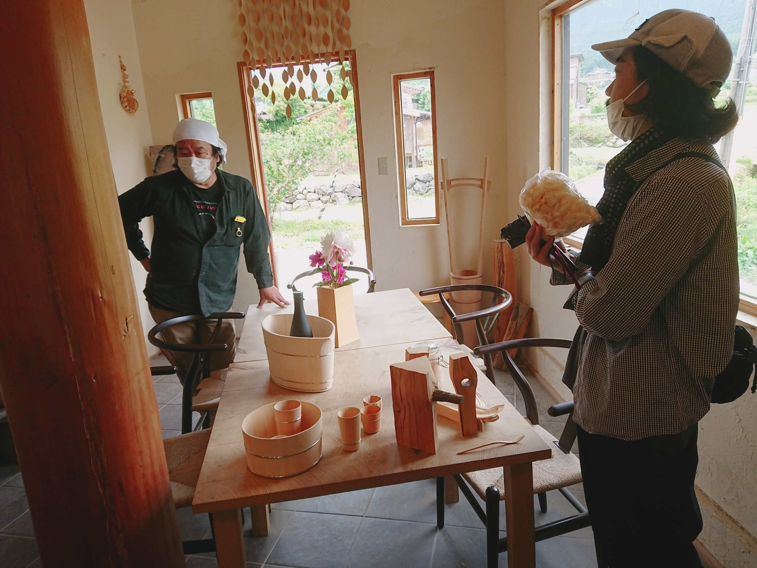 中川木工芸 比良工房を訪ねて