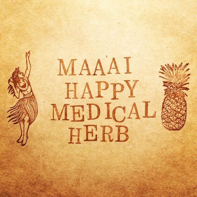 Blog #001  「Open!」  《maaai happy medical herbについて》
