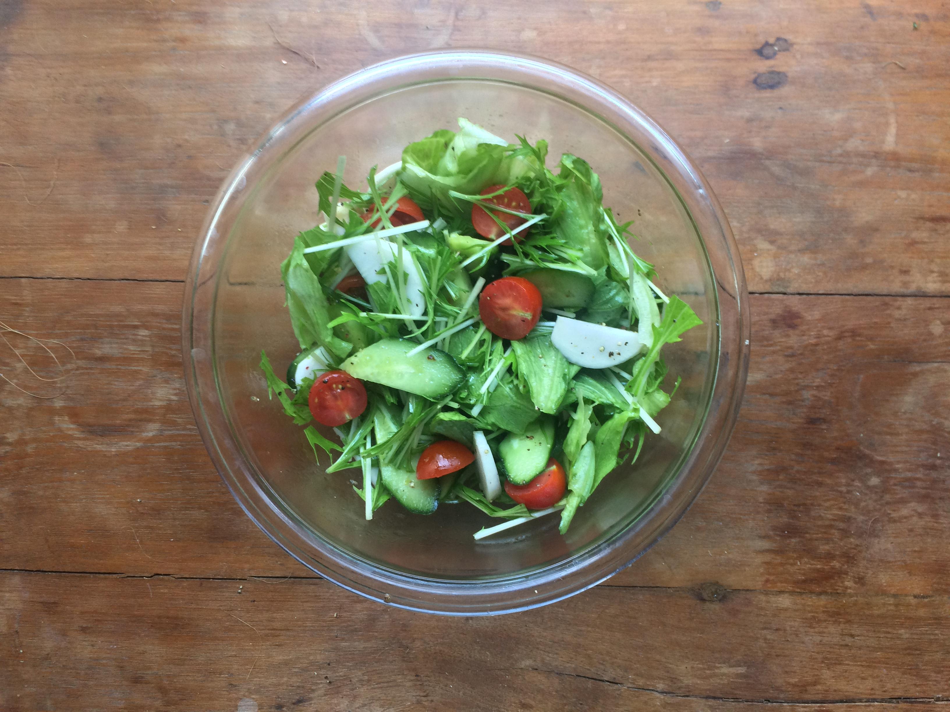 (ブログ)からだがよろこぶ野菜をじぶんに。