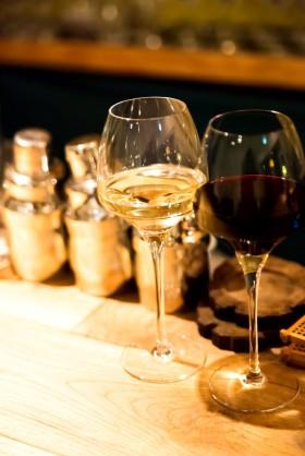 ワインが深い味わい!