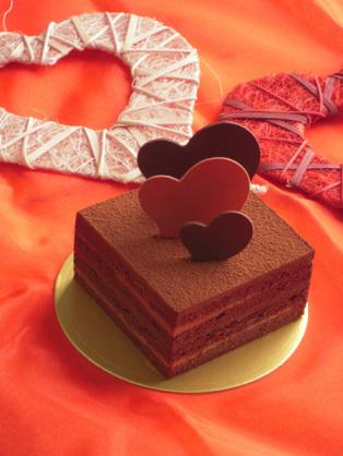 チョコレートケーキにも!