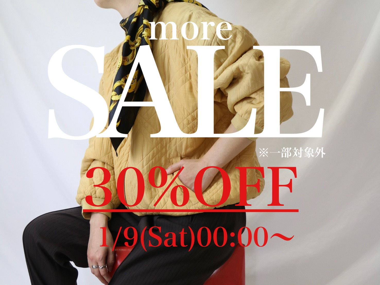 more sale! winter item ALL30%OFF!