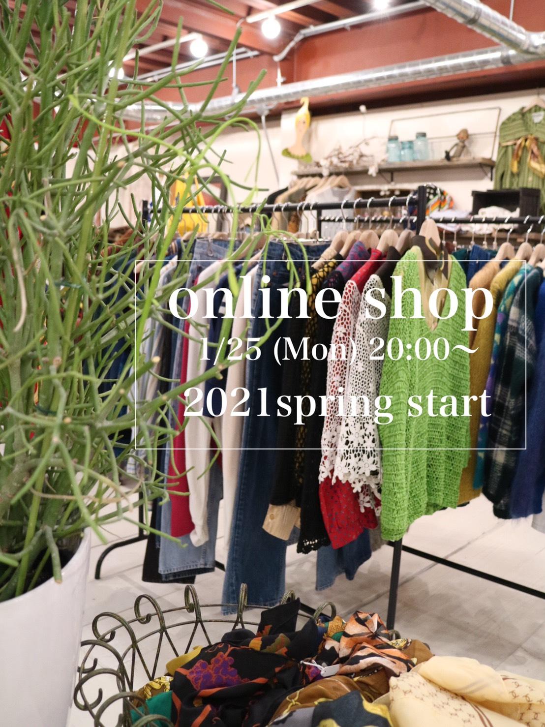 online shop spring 2021 start!!