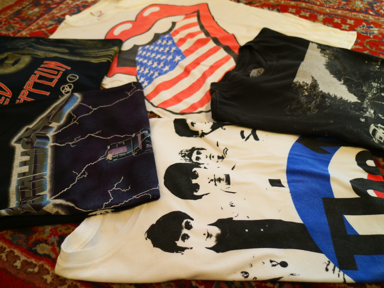 band Tee 80piece new arrival