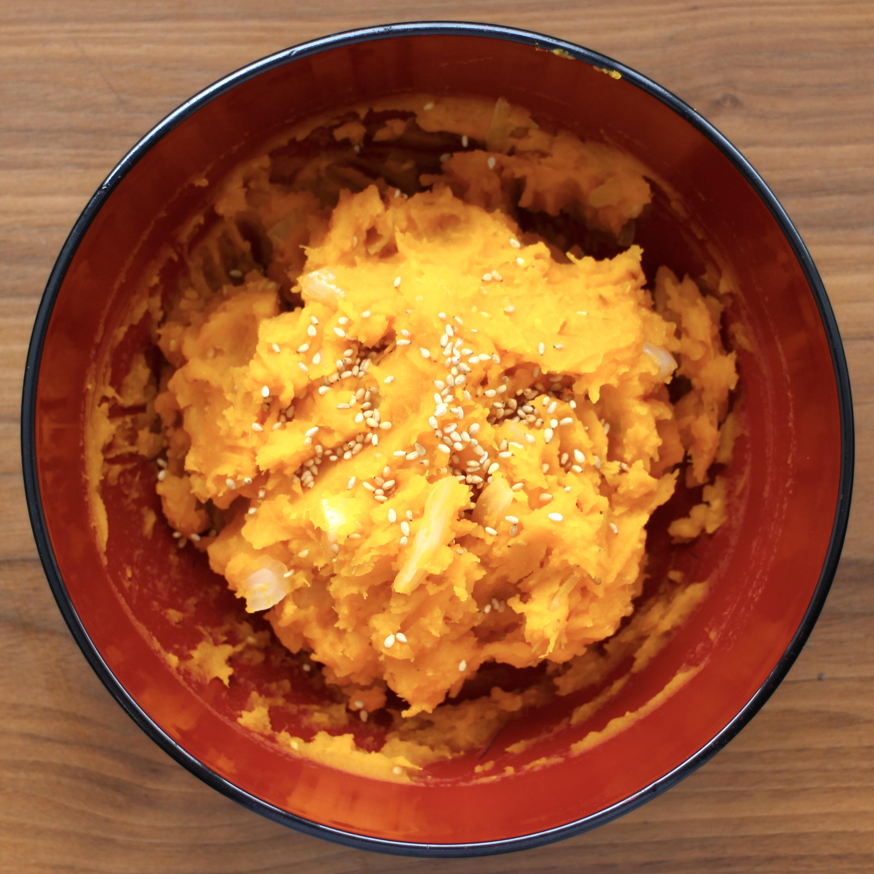 アレンジレシピ18:かぼちゃサラダ