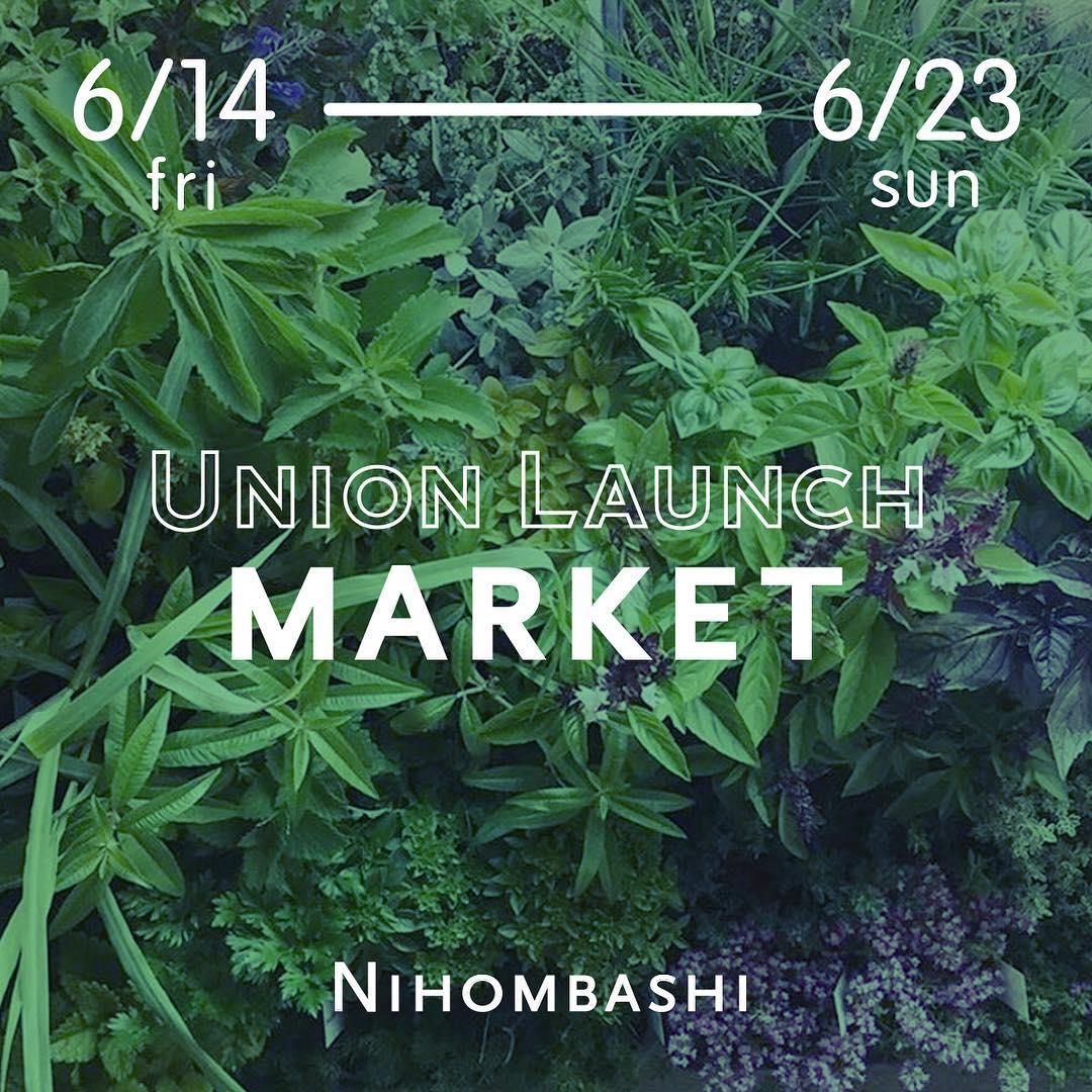 Pop up shop at UNION LAUNCH MARKET