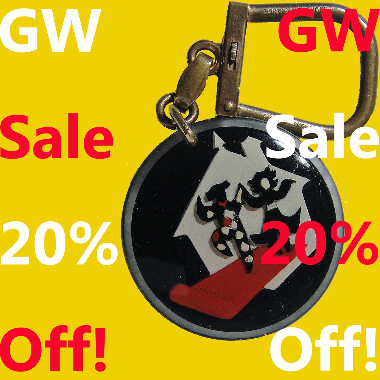GW Sale 20% Off!5月6日まで開催中です。送料無料です。どうぞよろしくお願い致します。