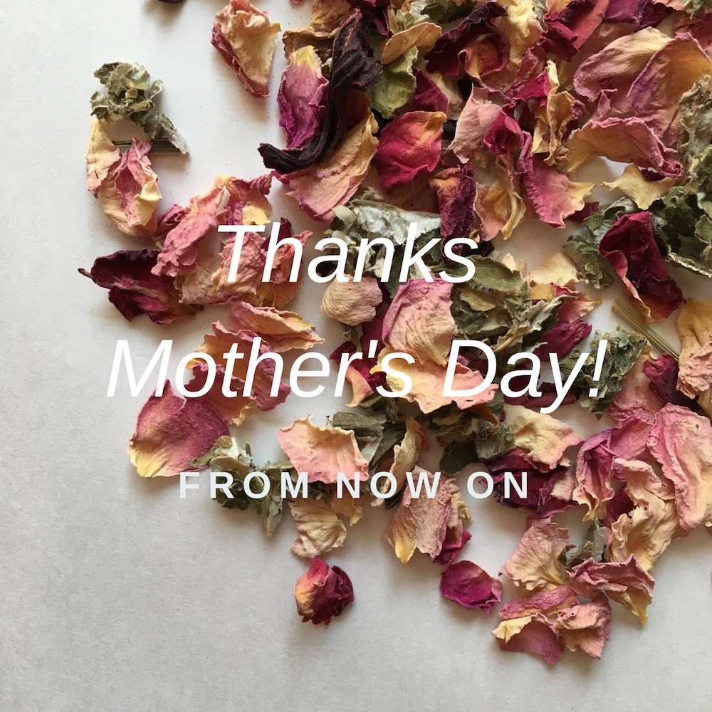 Thanks Mother's Day! 母の日ギフトセットご用意しました!