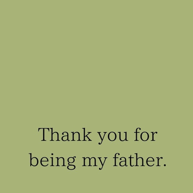 Thank you for being my father!父の日ギフトセットご用意しました!