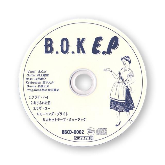 """B.O.K """"E.P""""販売終了のお知らせ"""