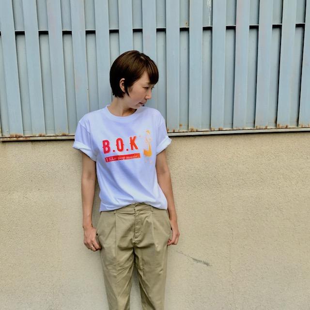 B.O.K Tシャツ新色発売!