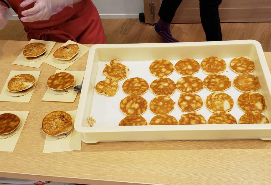 アレルギーフリーのお菓子プロジェクト 03 「米粉どらやき試食」米粉と豆乳(卵、小麦、乳不使用)