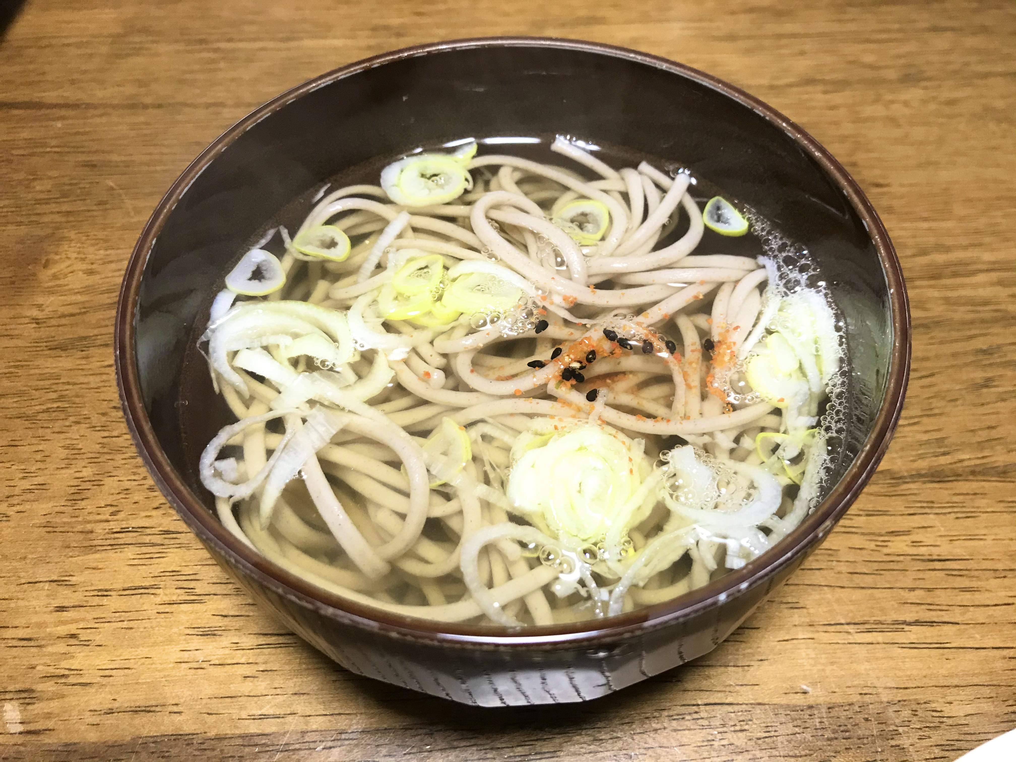 冬の「おすす麺」のご紹介①