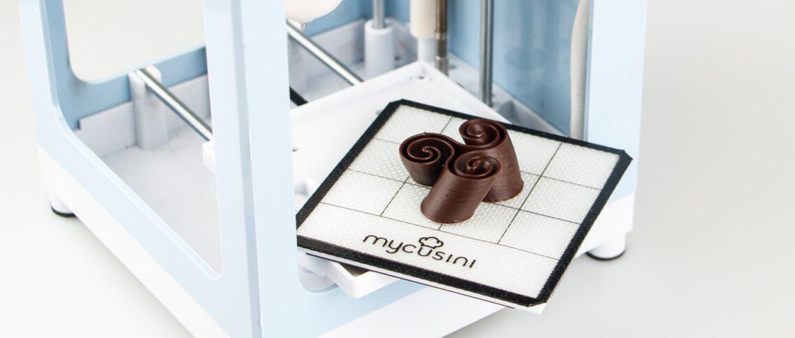 チョコレート専用3Dプリンター「mycusini® 3D Choco Printer」販売開始