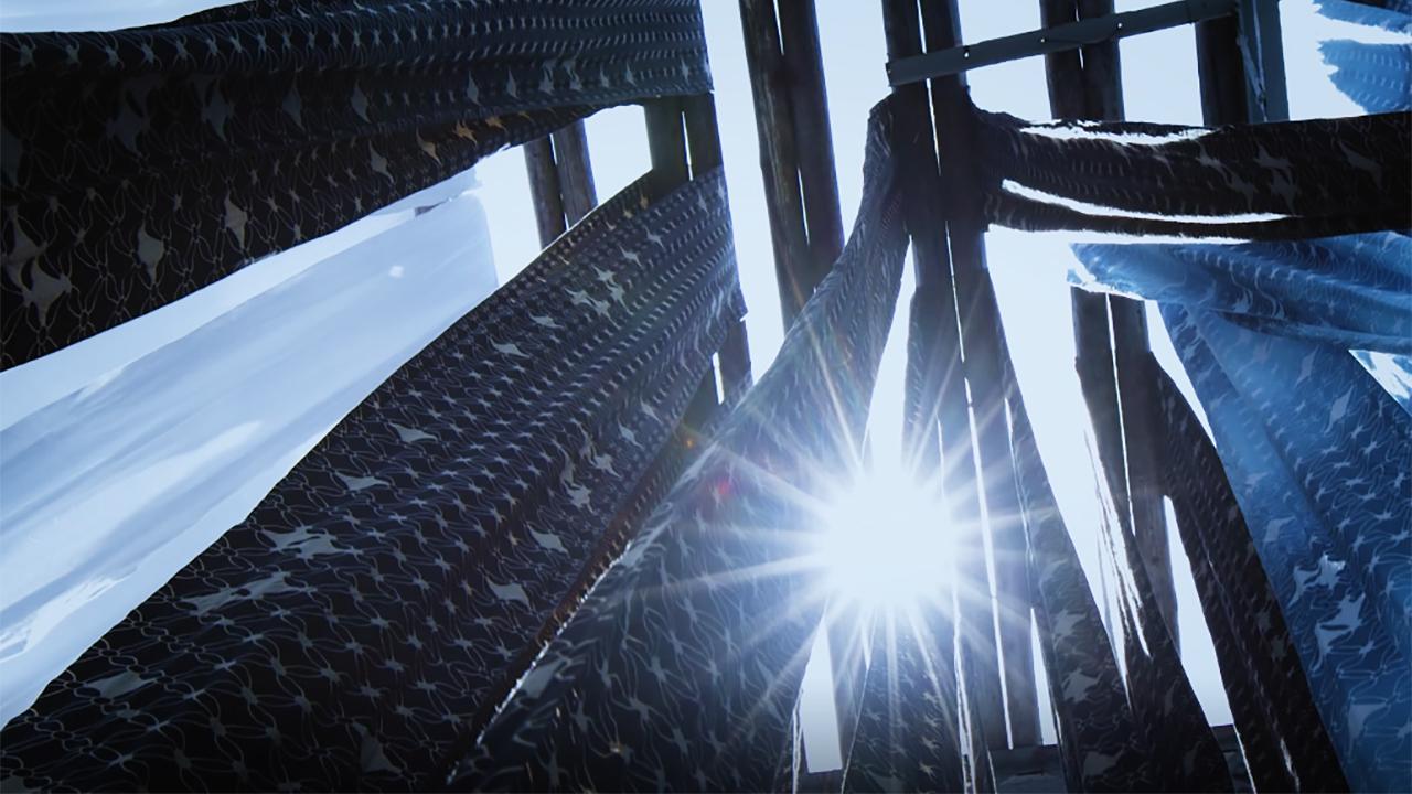 MANAKAの手ぬぐいは、伝統工芸に指定された「注染」という方法で染め上げています。