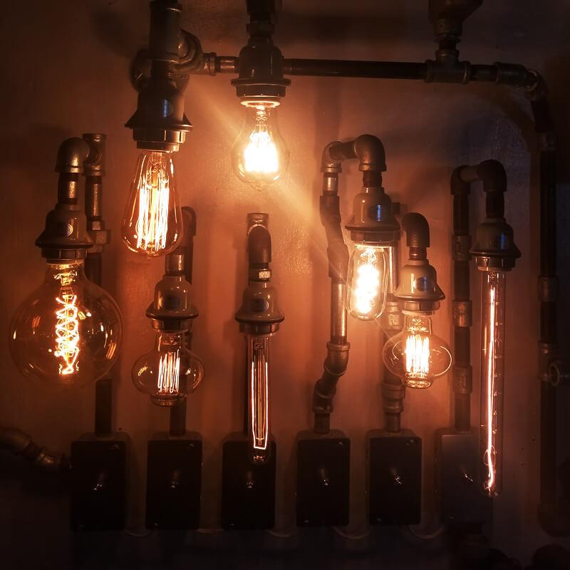 レトロなエジソンバルブ電球について💡