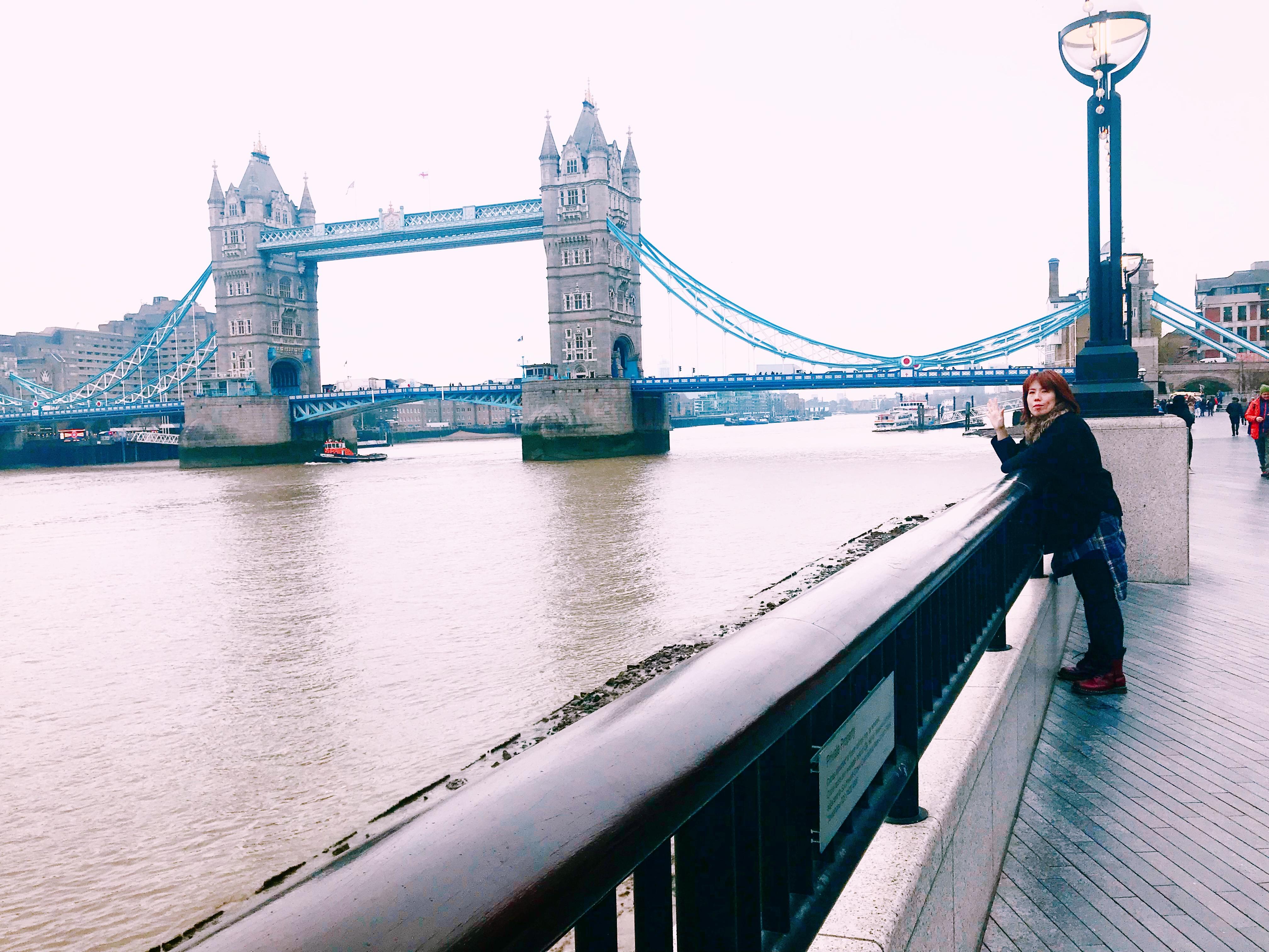 I am in London