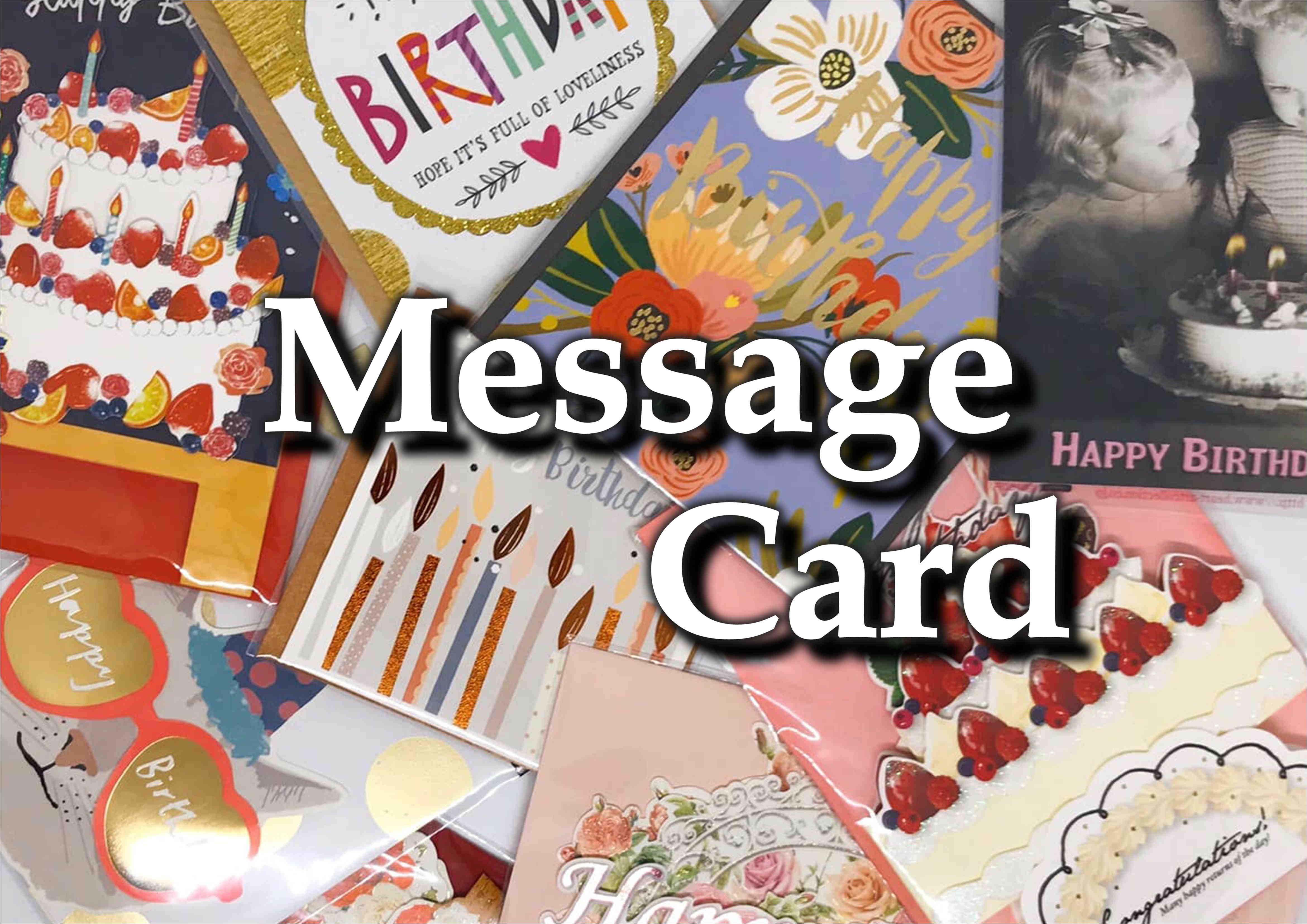 🌸贈り物と一緒におしゃれなメッセージカードを添えてみませんか?(o^―^o)🌸