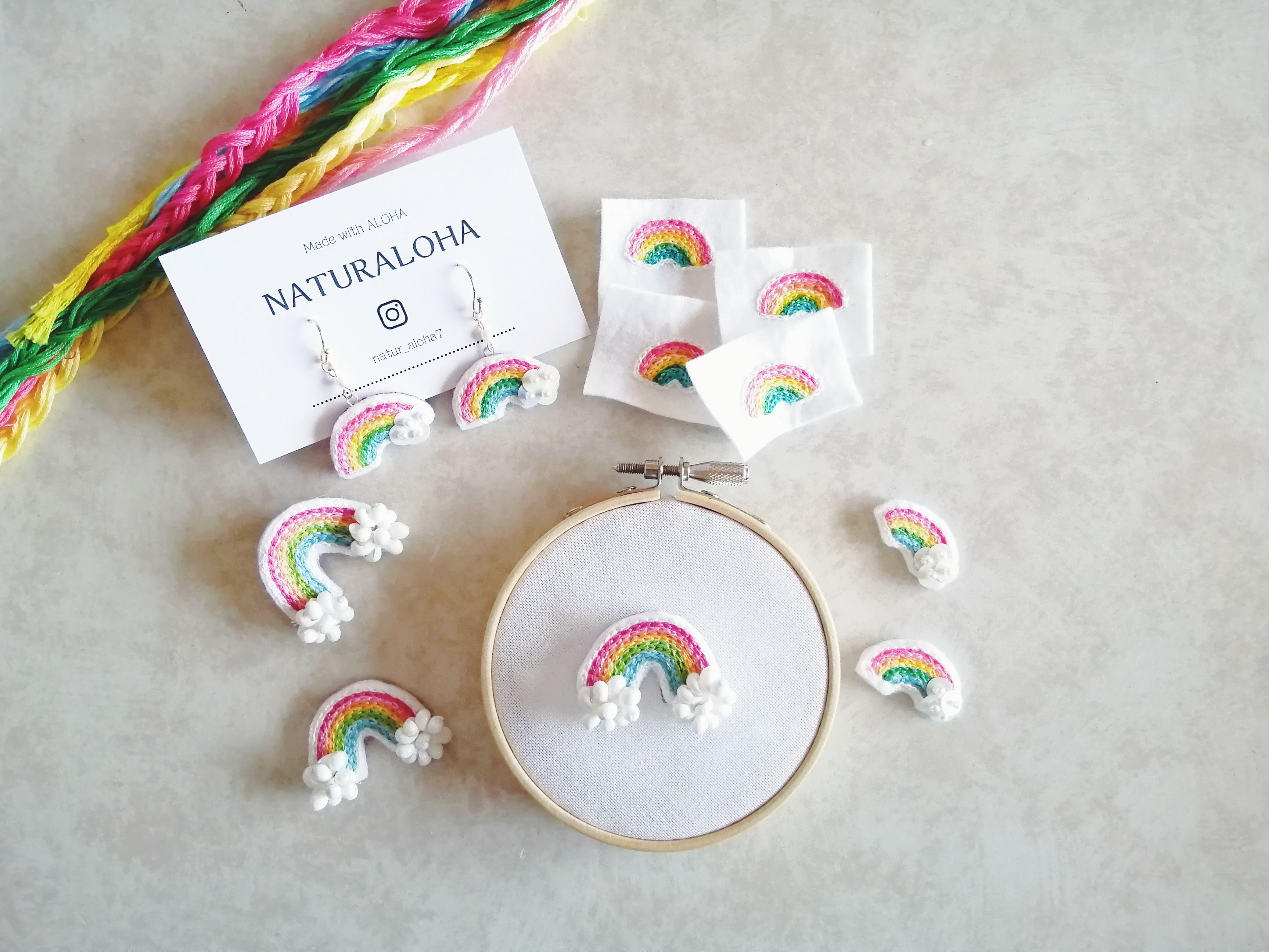 【1月の新作販売会♡】テーマは虹。虹のパーティはじまるよ~
